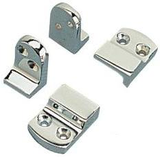 Sea Dog Ladder Locks Chrome on Brass