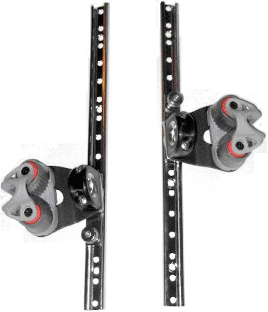 Daysailer Jib Car Pair (Adjustable)