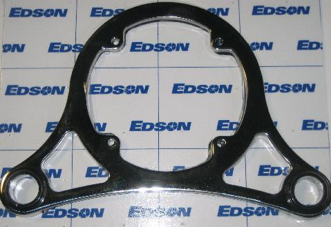 Edson Pedestal Top Plate Stainless w/Gasket & Bushings