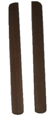 O'day 25 Solid Teak Hatch Board Retainers (Pr)